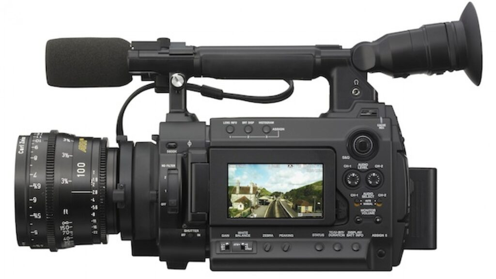 Sony F3 suitable for conferences, interviews and TV with interlaced filming